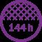 144 hilos